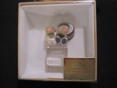 "1980 Hallmark Keepsake ""Frosty Friends"" 1st in the series Christmas Ornament"