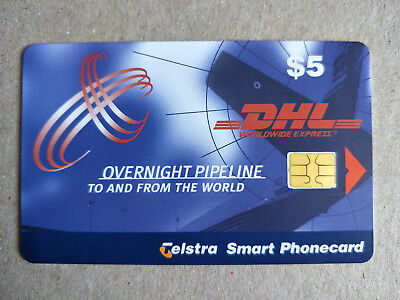 $5 DHL Worldwide Express Phonecard 99005003A Exp 4/2001