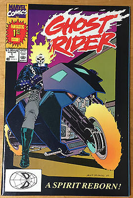 GHOST RIDER 1 (Marvel May 1989 1st Print) NM 9.2 Free S&H