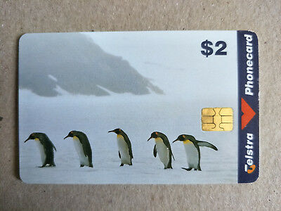 $2 Penguins Phonecard 98002084P Exp 06/2000