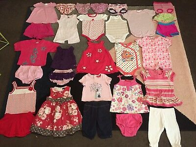 Bulk lot baby girls sz 00 summer clothes Sprout Purebaby Bonds Patch