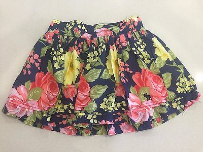 Abercrombie & Fitch Girls Floral Skirt - Size Xl (14-16)