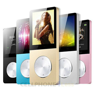 MP3 Music Player Digital LCD 1.8 inch TFT Screen Lossless Support 128GB Micro SD