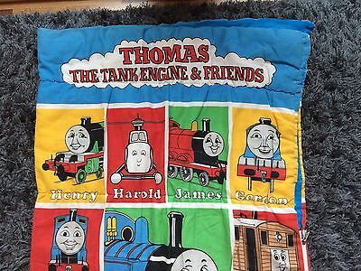 Thomas The Tank Engine And Friends Train 1992 Kids Sleeping Bag 90s