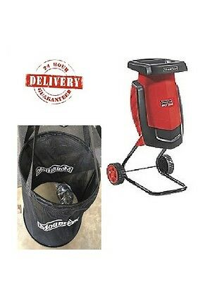 WOW MOUNTFIELD Garden Shredder 2200w Electric  Mulcher Outdoor Chipper Composter