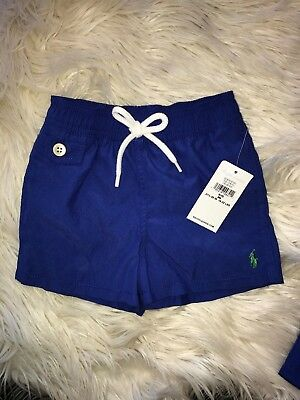 NEW Baby Boy Ralph Lauren Holiday III Swim Shorts size 9M and 12M