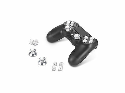 Supremery Playstation 4 Dualshock 4 Aluminium Buttons Caps Thumbsticks