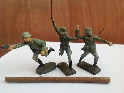 German Toys Lineol officers