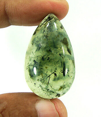 70.00 Ct Beautiful Natural Cabochon Prehnite Loose Gemstone Stone - 9920