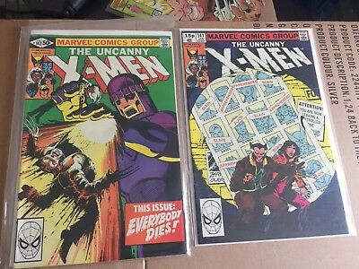 X-men 141 And 142 Day's Of Future Past Marvel Comics Wolverine
