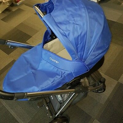 Oyster Carrycot Blue Colour Pack