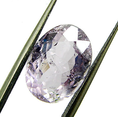 4.83 Ct Certified Natural Pink Kunzite Loose Oval Gemstone Stone - 130499