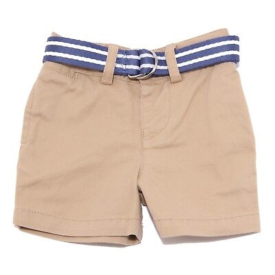 9192T bermuda bimbo RALPH LAUREN beige short pant light brown kid boy