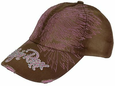 Ladies Cap Distressed Pink