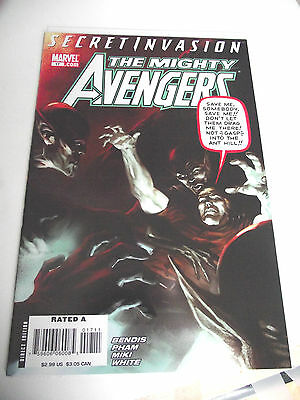 The Mighty Avengers #17 (2007) Secret Invasion VF/NM