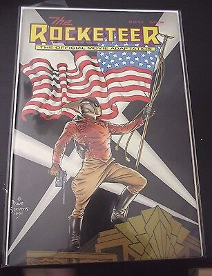 The Rocketeer The Official Movie Adaptation 1991 over-sized VG