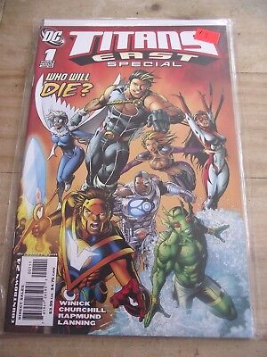 Titans East Special #1 Who Will Die Cyborg Starfire VF