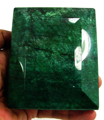 5048.00 Ct Certified Natural Emerald Huge Earth Mined Loose Gemstone- 130074