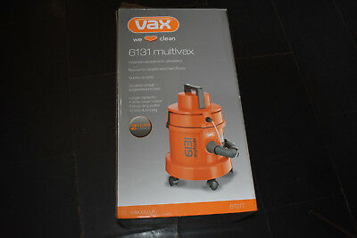 Vax 6131T multifunctional Vacuum Cleaner & Shampooer only used once