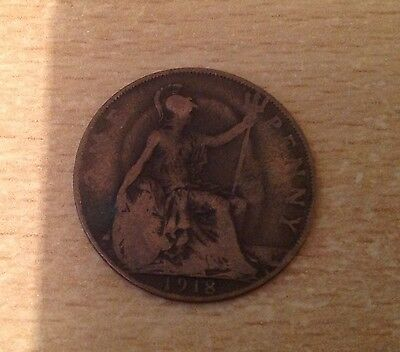 1918 Penny Coin