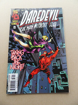 Daredevil 364 .Mr Fear App . Marvel 1997 . VF
