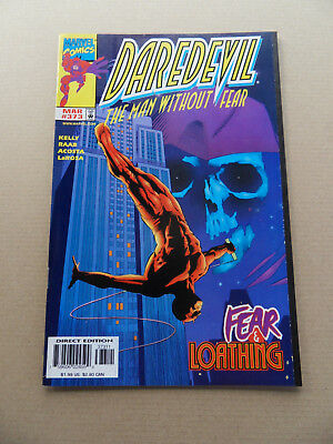 Daredevil 373 . Mr Fear App .Marvel 1998 . VF