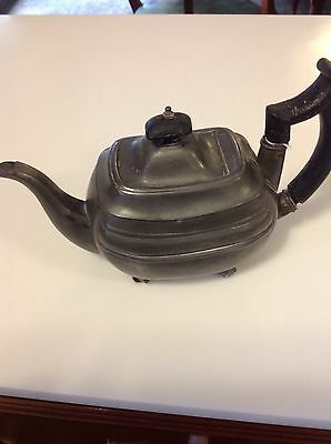 Very Early Pewter Teapot Early 1800's