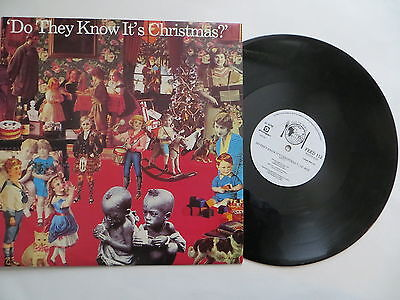 """Do They Know Its Christmas, Feed The World, Band Aid,  12"""" 1984"""