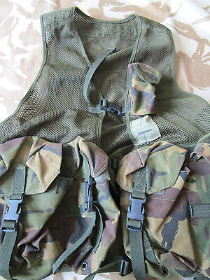 WYVERN sass Chest webbing RIG assault vest ARMY DPM sas Molle Pouches sbs