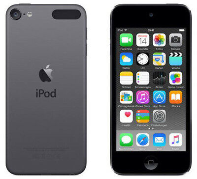 APPLE MKH62FD/A iPod touch 6. Generation 16GB Spacegrau wie NEU OVP MP3 Player