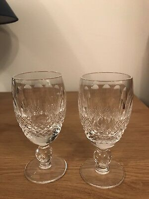 2 Waterford Colleen Sherry Glasses