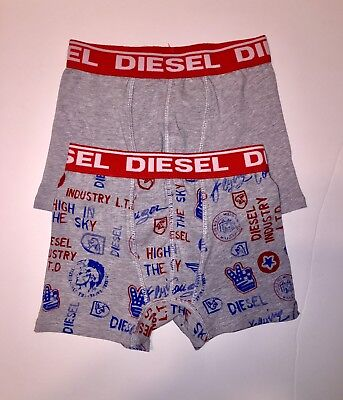 Diesel Boy's Boxer Briefs - 2 Pack - New In Package  Size Small