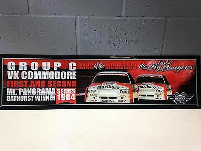 Musclecar Bathurst winner VK Commodore Big banger 1984 Acrylic Display