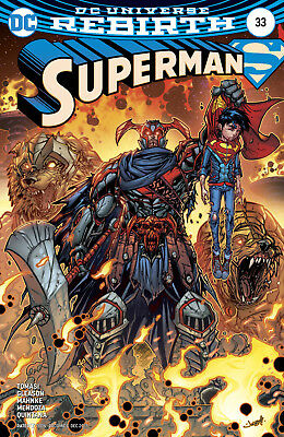 Superman #33 (2017) 1St Printing Variant Cover Dc Comics Universe Rebirth