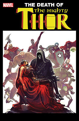 Mighty Thor #700 (2017) 1St Printing Hans Lenticular Variant Cover Legacy Tie-In
