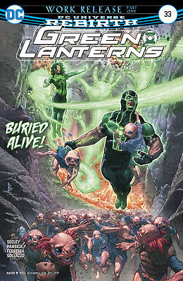 Green Lanterns #33 (2017) 1St Printing Bagged & Boarded Dc Universe Rebirth
