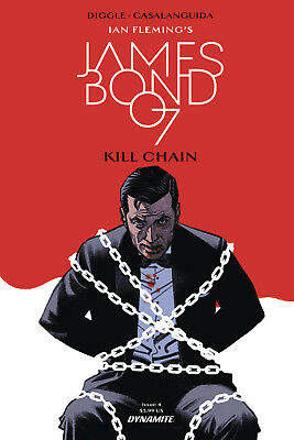 James Bond Kill Chain #4 (2017) 1St Printing Smallwood Cover A Bagged & Boarded
