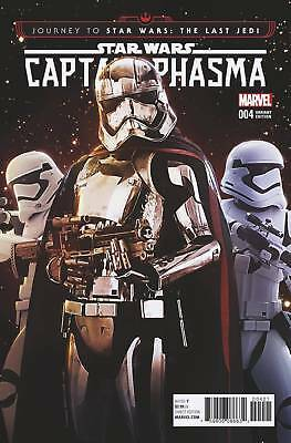 Journey To Star Wars Last Jedi Capt Phasma #4 (2017) Scarce 1:15 Movie Variant