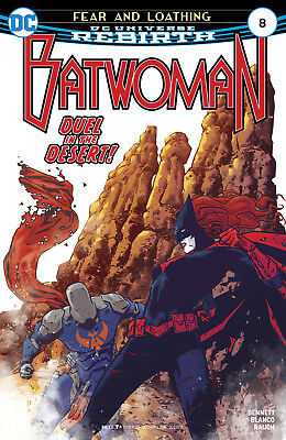 Batwoman #8 (2017) 1St Printing Bagged & Boarded Dc Universe Rebirth