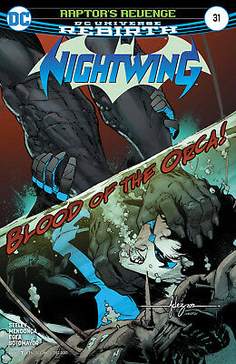 Nightwing #31 (2017) 1St Printing Dc Comics Universe Rebirth Bagged & Boarded