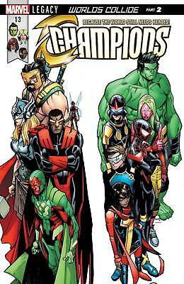 Champions #13 (2017) 1St Printng Bagged & Boarded Marvel Legacy Tie-In