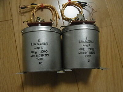 WSW repeater transformer pair (mastering quality best sounding)