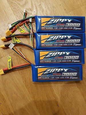 zippy lipo battery 3000 4 Cell 20c