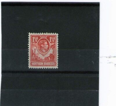 Northern Rhodesia King George V1 Mint Stamp 1938 Sg 29 Cat £50.00