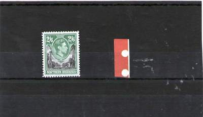 Northern Rhodesia King George V1 Mint Stamp 1938 Sg 41 2/6 Shillings