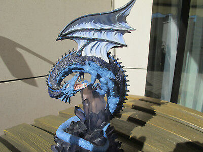 Land Of The Dragon - Large Sapphire Dragon A K187