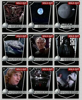 Star Wars Card Trader White Death Star Locations With Award