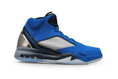 quality design 284ca 1a1df HOMMES AIR JORDAN FLIGHT REMIX - 679680-403 - Sport Bleu Noir Gris Cool  baskets