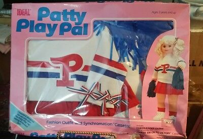 Ideal Patty Play Pal Cheerleader Outfit in box