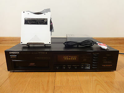 Pioneer PD-M410 6-Disc CD Compact Disc Changer 1989 Japan TESTED 100% Works Nice